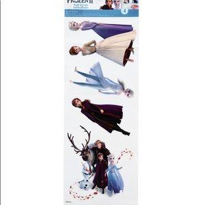 4 pc Frozen II Kids Room wall decal sticker Decor